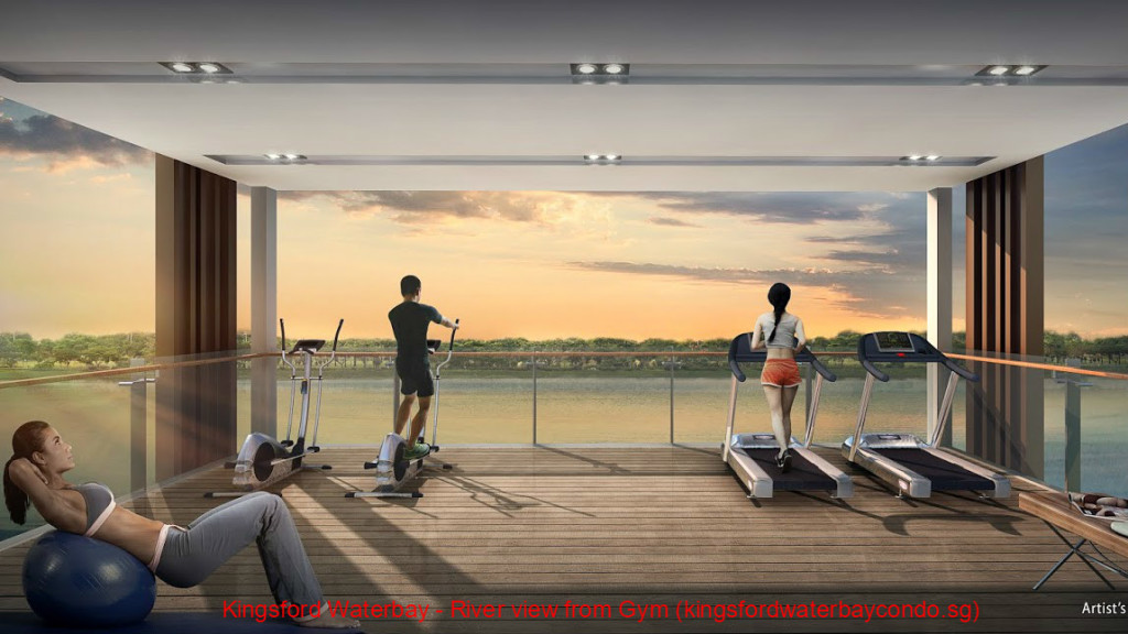 Kingsford Waterbay - River view from Gym (kingsfordwaterbaycondo.sg)