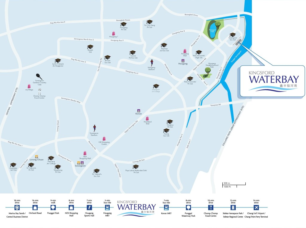 Kingsford Waterbay Condo - Location Map (kingsfordwaterbaycondo.sg)